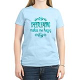 Cheerleading Women's Light T-Shirt