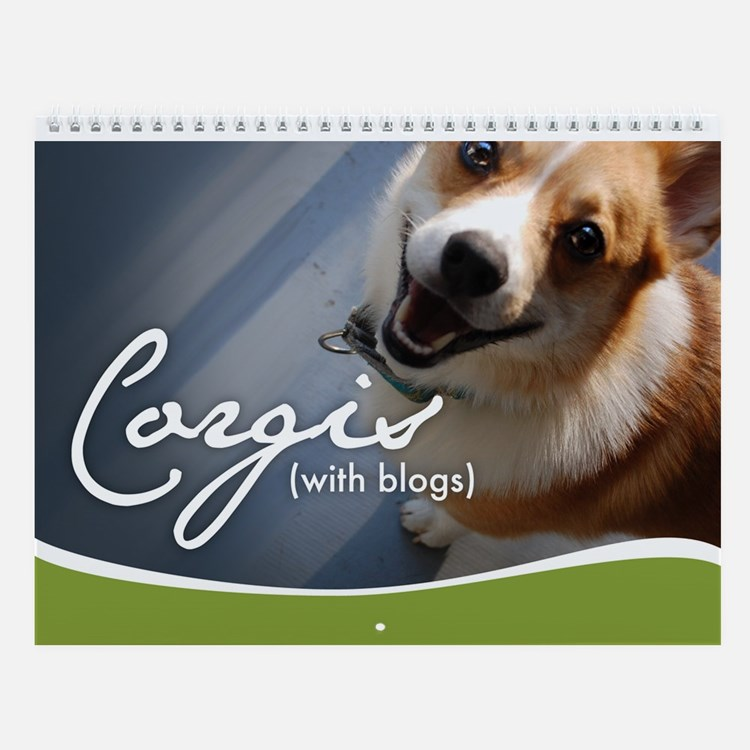 2nd Annual Corgis (with blogs) Wall Calendar