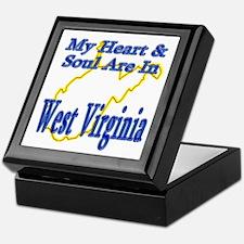 Heart & Soul - West Virginia Keepsake Box