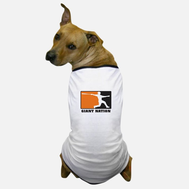 Giant Nation Dog T-Shirt