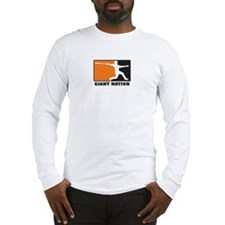 Giant Nation Long Sleeve T-Shirt