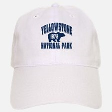 Yellowstone Old Style Blue Baseball Baseball Cap