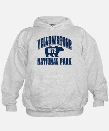 Yellowstone Old Style Blue Hoody