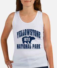Yellowstone Old Style Blue Women's Tank Top