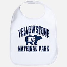Yellowstone Old Style Blue Bib