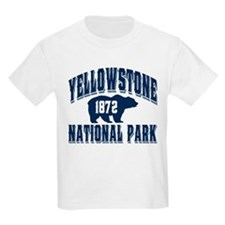 Yellowstone Old Style Blue T-Shirt