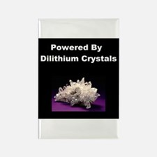 Powered By Dilithium Crystals Rectangle Magnet
