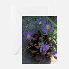 Cool Wildflowers Greeting Card