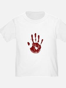 Bloody Handprint T