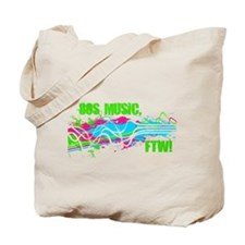 80s Music, FTW! Tote Bag