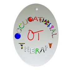 OT at work Ornament (Oval)