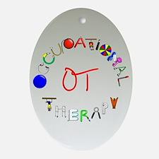 OT at work Ornament (Oval)