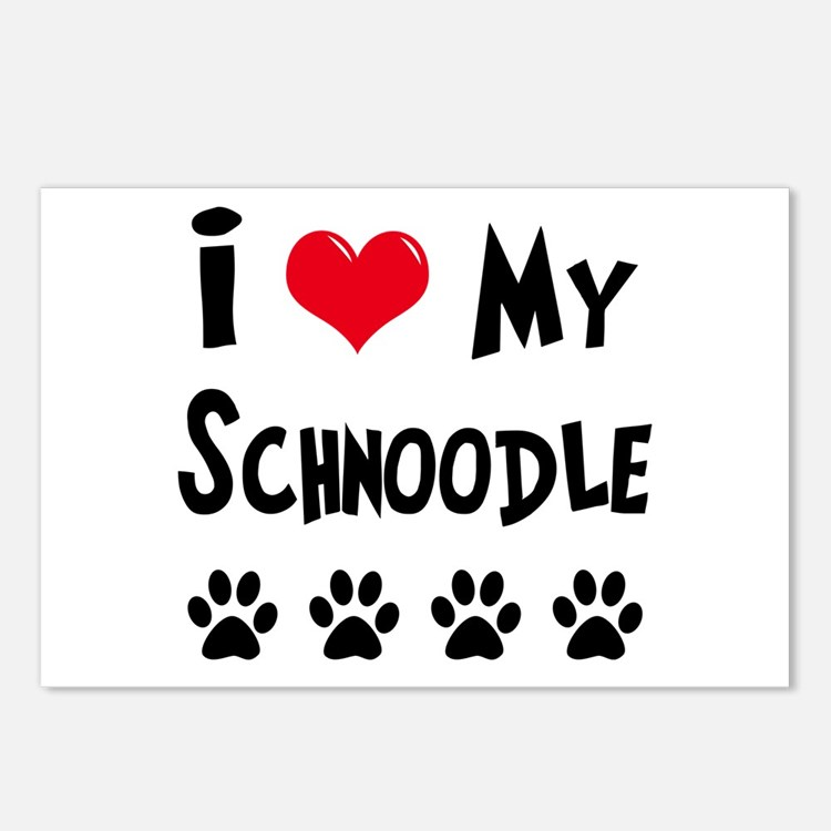 Schnoodle Postcards (Package of 8)