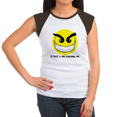 I Feel A Sin Coming On! Women's Cap Sleeve T-Shirt