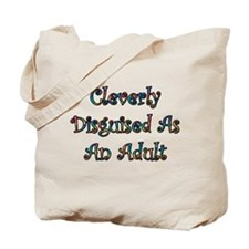 Funny Adult christmas Tote Bag