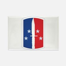 189th Infantry Brigade - SSI Rectangle Magnet