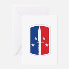 189th Infantry Brigade - SSI Greeting Card
