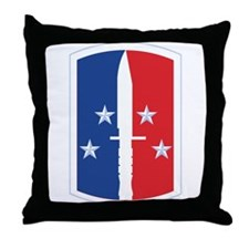 189th Infantry Brigade - SSI Throw Pillow