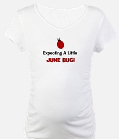 Expecting Little June Bug in Shirt