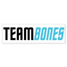 Team Bones Bumper Sticker