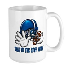 Talk to the Stiff Arm Mug