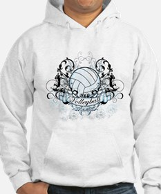 Volleyball Tribal Hoodie