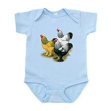 Brahma Rooster Assortment Infant Bodysuit