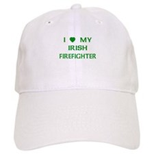 Love My Irish Firefighter Baseball Cap