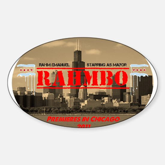 Unique Rahm emmanuel Sticker (Oval)