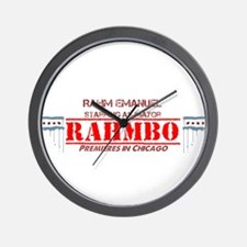 Cute Rahm emanuel Wall Clock