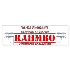 Rahm Bumper Sticker