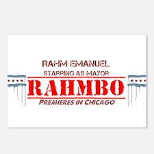 Unique Rahm emanuel Postcards (Package of 8)
