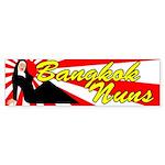 Bangkok Nuns Bumper Sticker