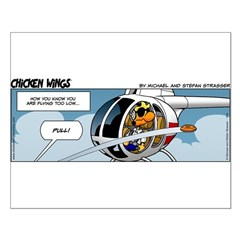 0544 - Flying too low Posters