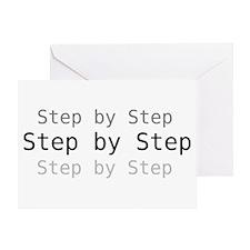 Step by step - Greeting Card