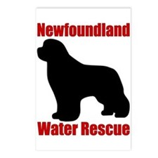 Water Rescue with Silhouette Postcards (Package of