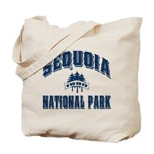 Sequoia Old Style Blue Tote Bag