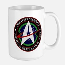 Starfleet Security Large Mug