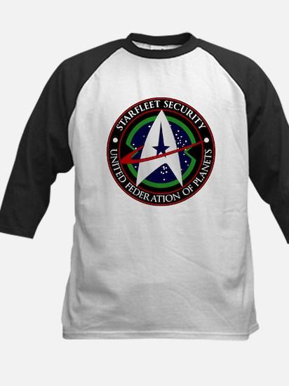 Starfleet Security Kids Baseball Jersey