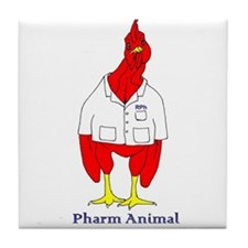 Funny Pharmacy student Tile Coaster