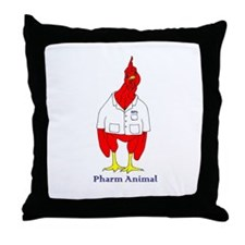 Funny Pharmacy student Throw Pillow