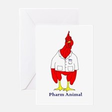 Pharm Animal Greeting Cards