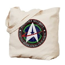 Vintage Starfleet Tote Bag