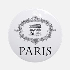 Romantic Paris - Ornament (Round)