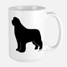 Newfoundland Silhouette Large Mug