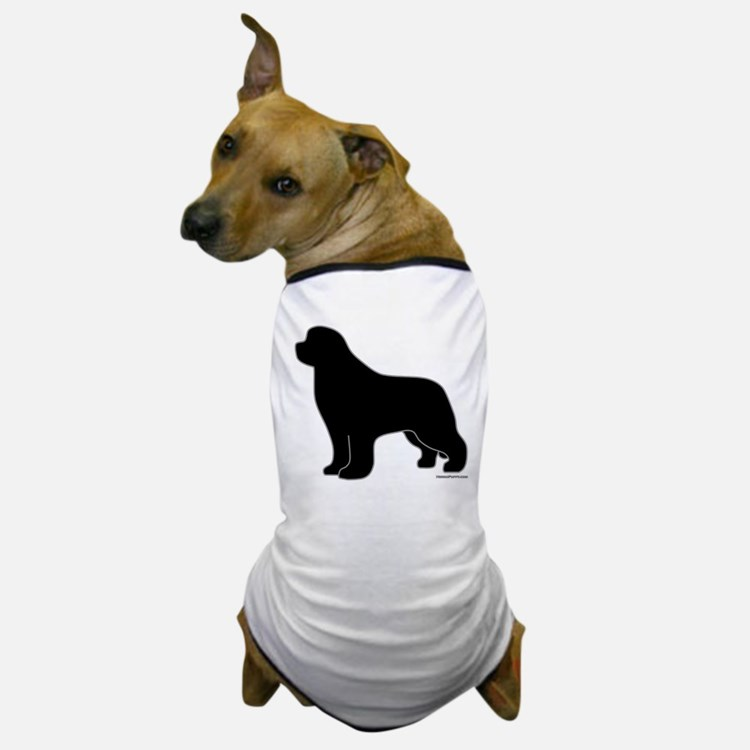 Newfoundland Silhouette Dog T-Shirt