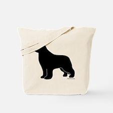 Newfoundland Silhouette Tote Bag