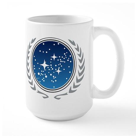 Federation of Planets Large Mug