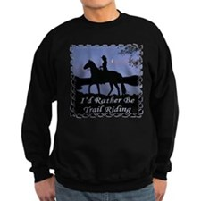 Moonlight Trail Riding Sweatshirt