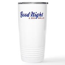 Good Night with Water Drops Travel Mug